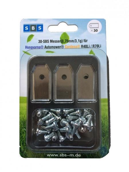 SBS® Ersatzklingen für Husqvarna Automower® & Gardena® Rasenmäher