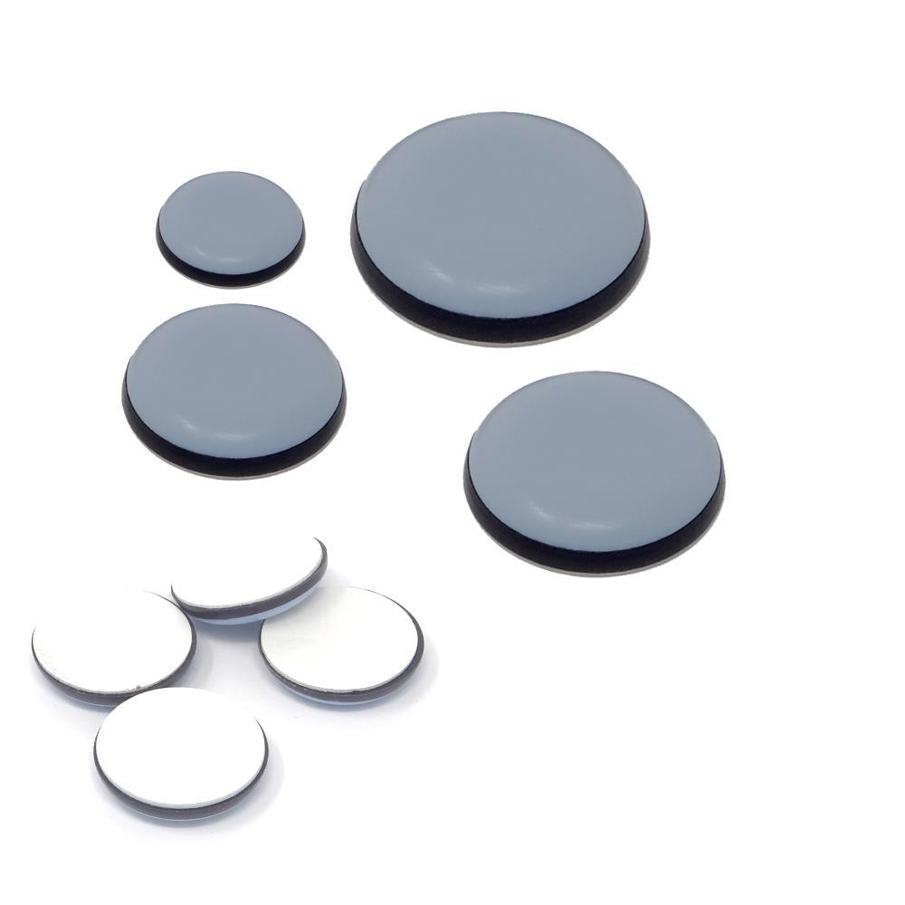 4 Stk PTFE Teflon Gleiter  Selbstklebend  30mm 60 Nr
