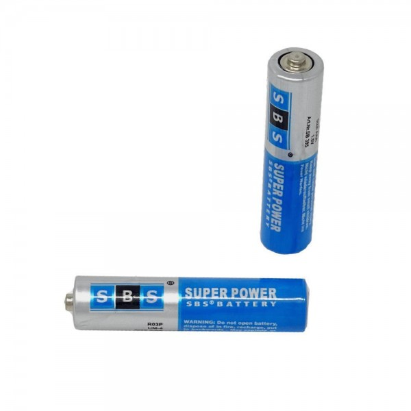 SBS® Batterie Micro AAA, 1,5V, LR3, 24A Microzelle - Menge wählbar