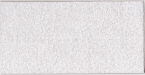 SBS Filz-Zuschnitt selbstklebend weiß 100 x 200 mm SB385