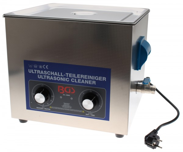 BGS 8960 Ultraschall-Teilereiniger | 13 Liter