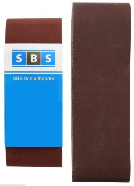 SBS® Schleifbänder 75x533mm für Bandschleifer Schleifband Körnung