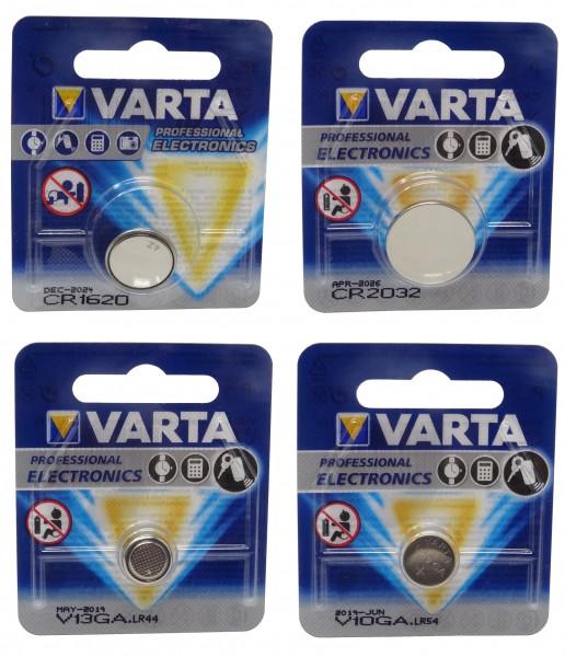 Varta Knopfzellen CR1620 CR2032 V10GA V13GA