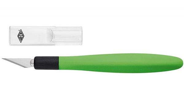 WEDO Bastelmesser Comfortline grün/schwarz inkl. 5 Ersatzklingen