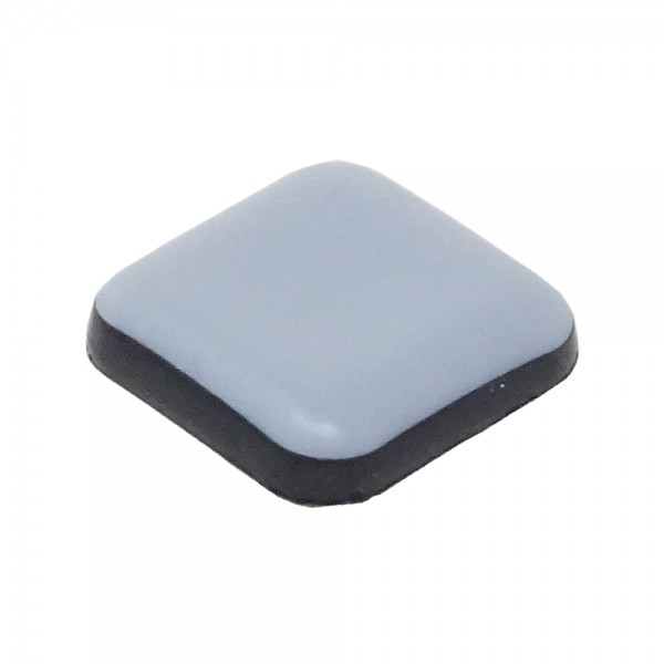SBS® 20 Stück Teflongleiter selbstklebend eckig Stärke: 5mm Möbelgleiter