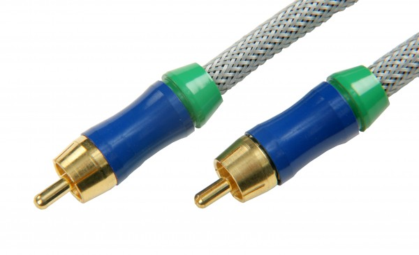 SBS® High-End Audio/Video Kabel male to male 3m oder 5m