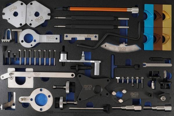 BGS 4137 Werkstattwageneinlage 3/3: Motor-Einstellwerkzeug-Satz | für Fiat, Alfa, Lancia, Opel, Suzu