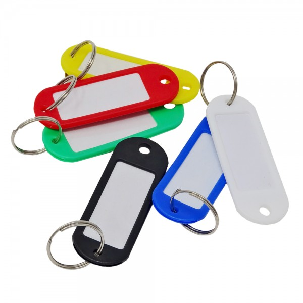 SBS® Schlüsselschilder 200 Stück zum Beschriften Schlüsselanhänger Beschriftungsschilder