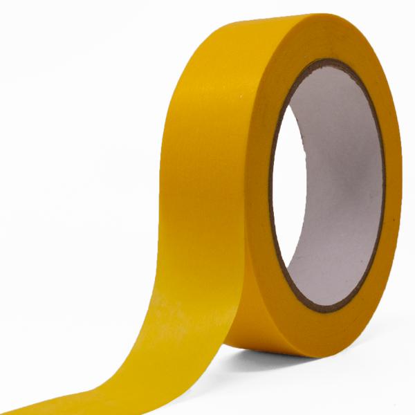 SBS® Goldband 25 mm x 50 m, Kreppband, Malerkrepp, Abdeckband, Klebeband
