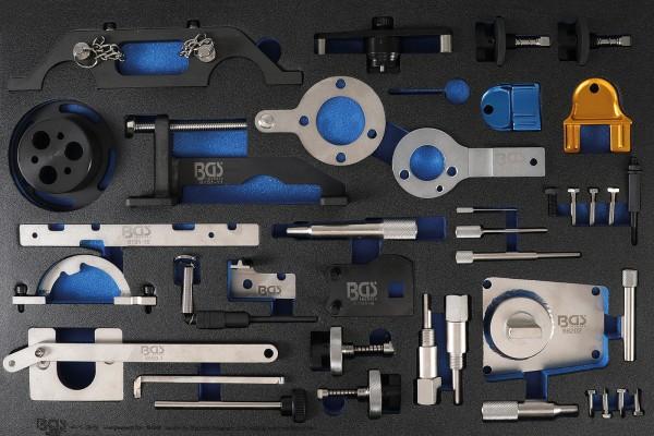 BGS 4138 Werkstattwageneinlage 3/3: Motor-Einstellwerkzeug-Satz | für Opel, Chevrolet, Saab, Fiat, L