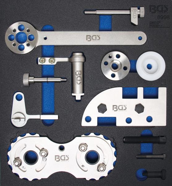 BGS 8998 Motor-Einstellwerkzeug-Satz | für Volvo B4204