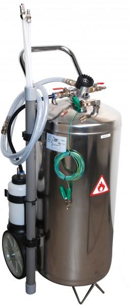 BGS 8702 Pneumatik-Kraftstoff-Absauggerät | 40 l